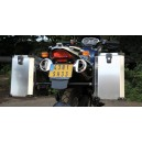 Side luggage carrier for BMW F650GS/Dakar