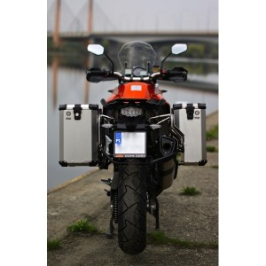 PRO pannier system for KTM 1190 Adv / R with Nomada PRO II panniers